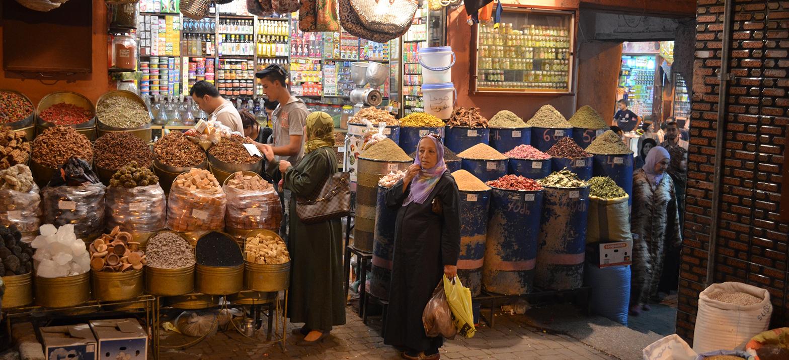 Marokko-Rundreisen Berbermarkt
